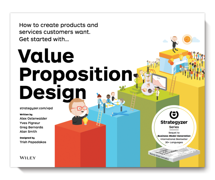 Why we created value proposition design strategyzer the 2nd book in the strategyzer series value proposition design nbsp vpdesign accmission Choice Image