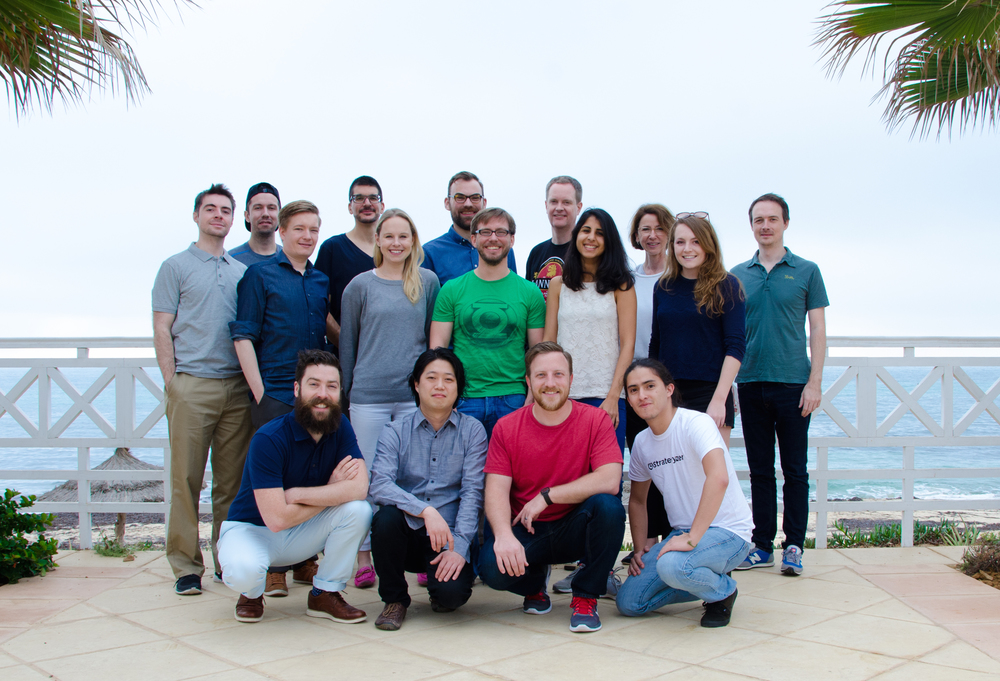 The Strategyzer team in Hammamet, Tunisia.