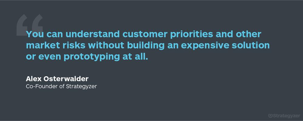 Customer_priorities_Alex_Osterwalder_Quote