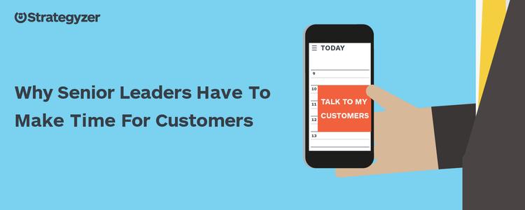 Senior leidinggevenden moeten meer tijd maken voor klanten