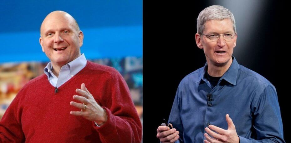 Strategyzer_Tim_Cook_Steve_Ballmer_Apple_Microsoft