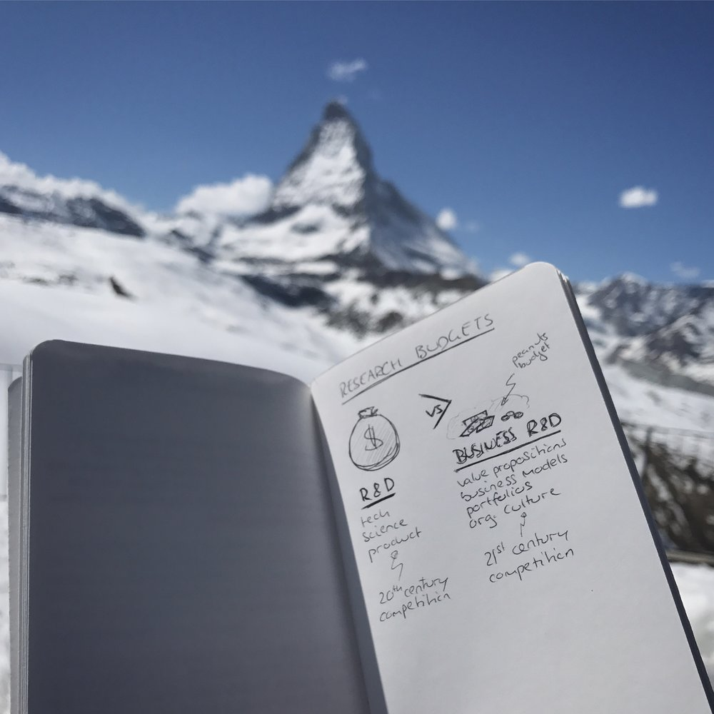 Thoughts from a view. The stunning Matterhorn in the background.