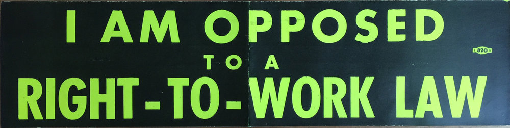 Sticker-cause Right to work 1958.jpg