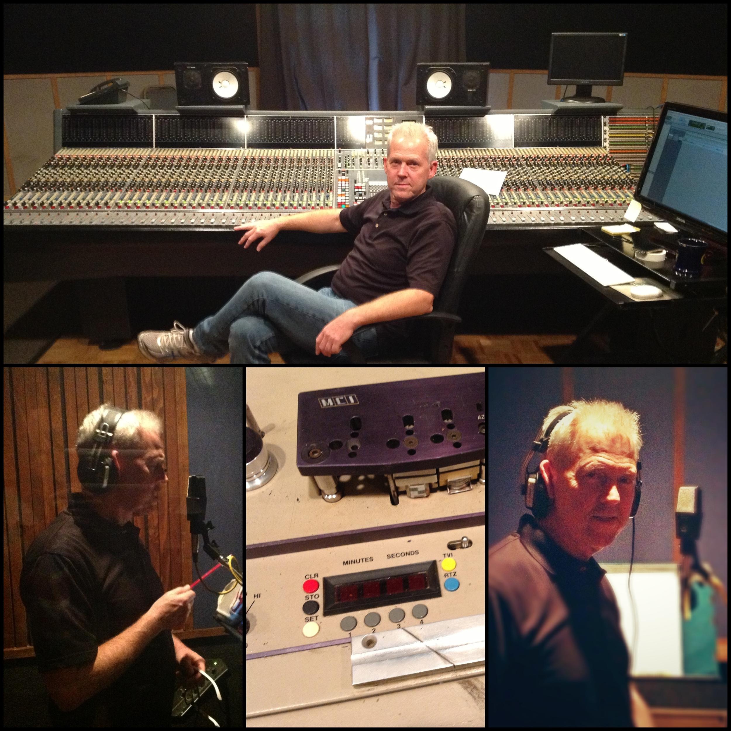 Rick Tarrant At MEmphis Ardent Studios