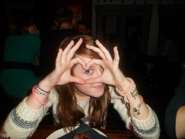 Jess Winter 2011 aged 14