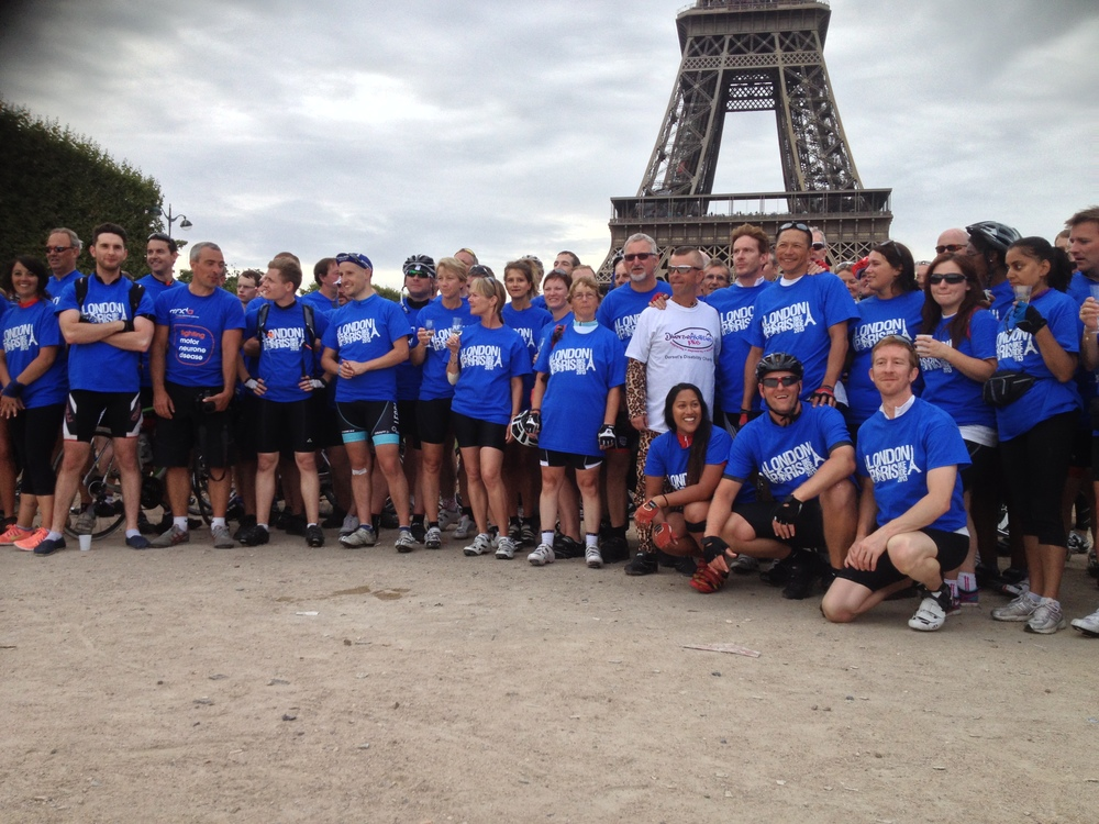 The whole Skyline Cycle Group. Met some fantastic people all cycling for some very poignant causes.