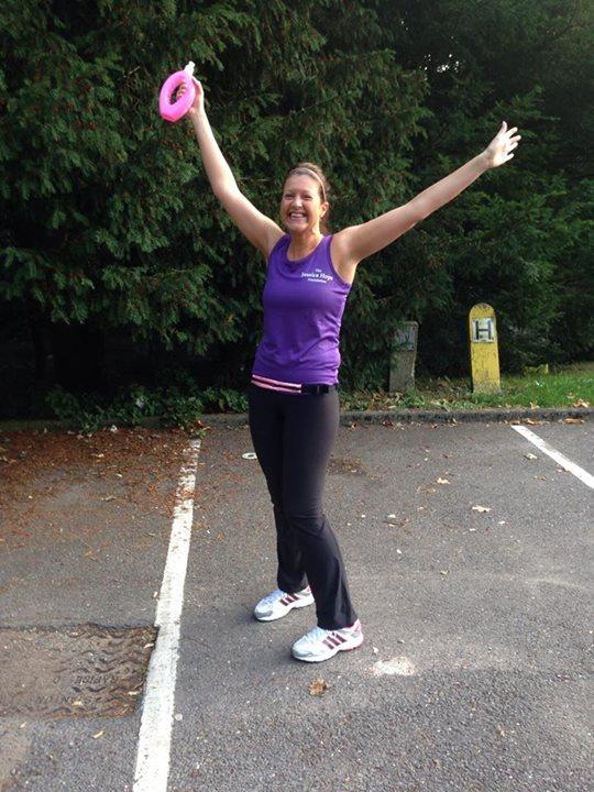 Helen in her foundation running vest!