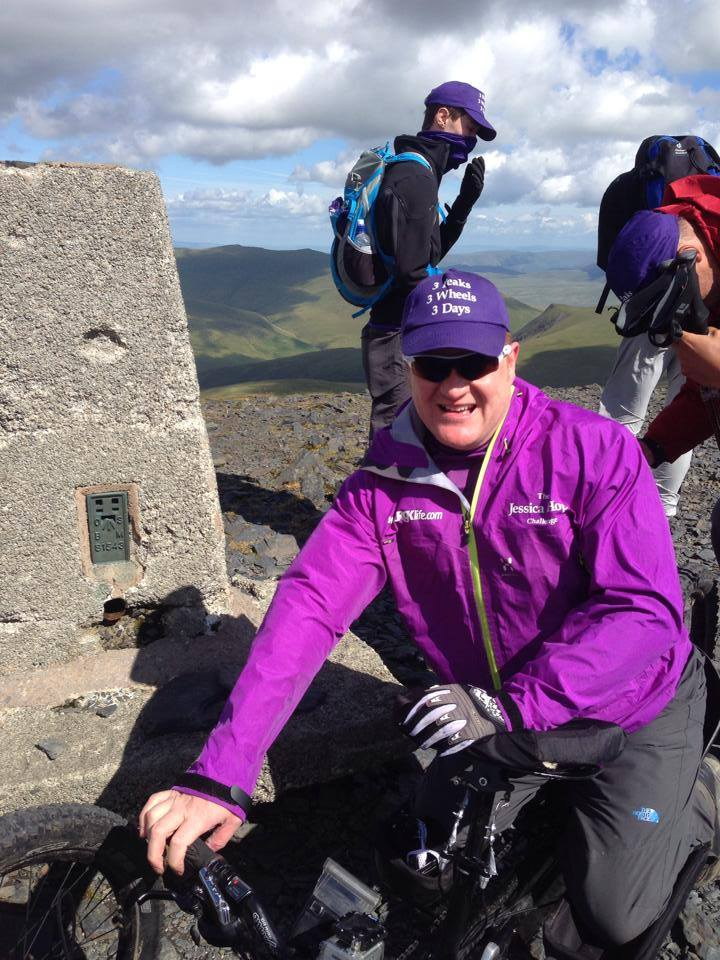 DAY 2: At the summit of Skiddaw Saturday 5th July.. Up and down in 6 hours!!