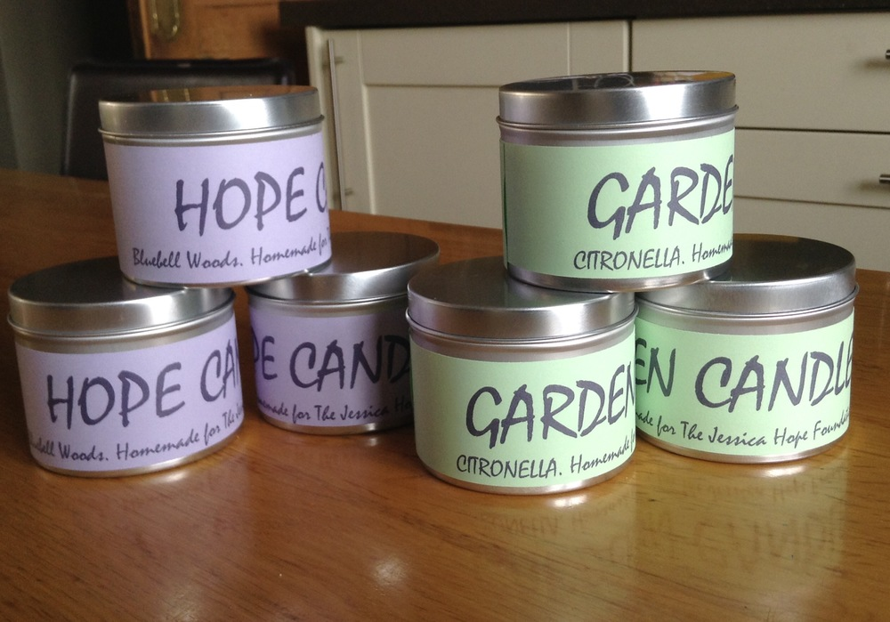 "Hope Candles Fragrance Choice: Christmas Pud, Neroli & Orange, Fresh Linen, White Musk, Jasmine, Bluebell Woods, Rose Garden, Orange and Cinnamon. £5  Please enter your fragrance choice in the ""add special instructions to seller"" during the checkout process on PayPal."