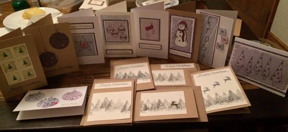Jessica Hope Christmas Cards £8 for 10 beautifully handmade cards