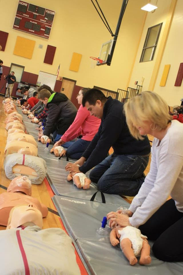 public training CPR