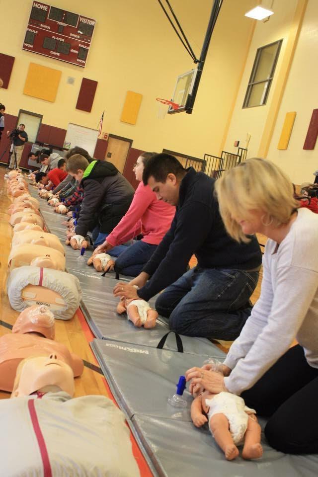 public training CPR