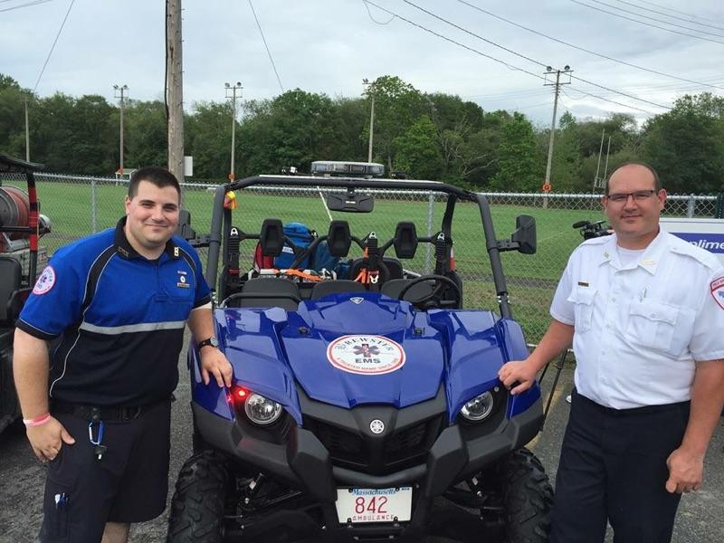 Brewster Ambulance ATV team