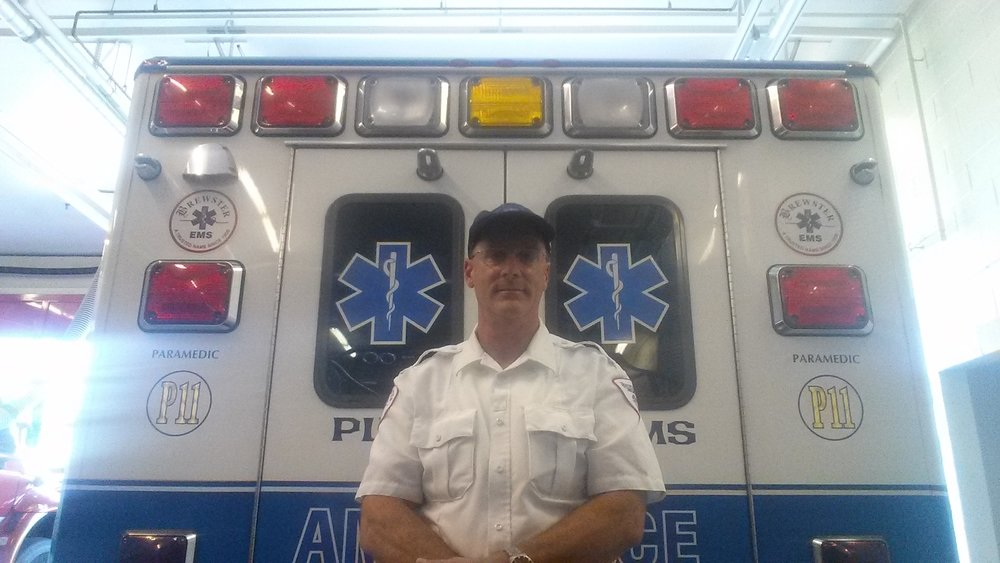 28-year Paramedic Robert Farmer, Plymouth, MA.