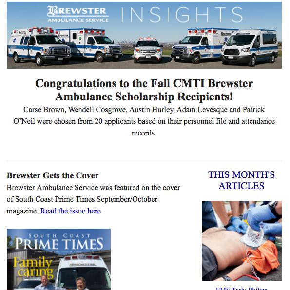 Brewster Insights September 2016