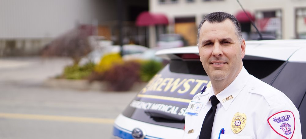 Jeff Begin, Brewster Ambulance Service Director of Operations, SE Mass