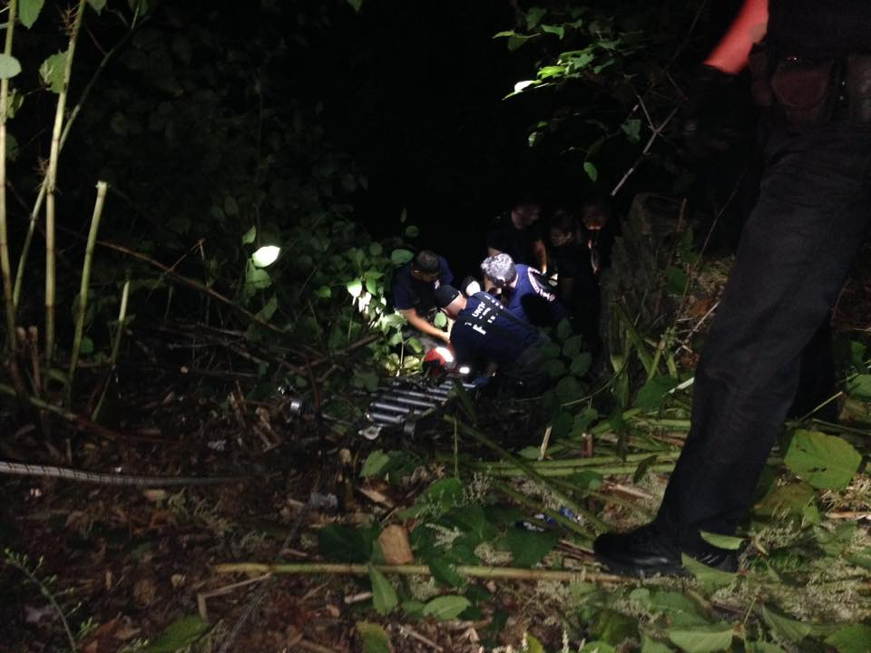 Mill River embankment rescue, Taunton Police and Fire Department assists