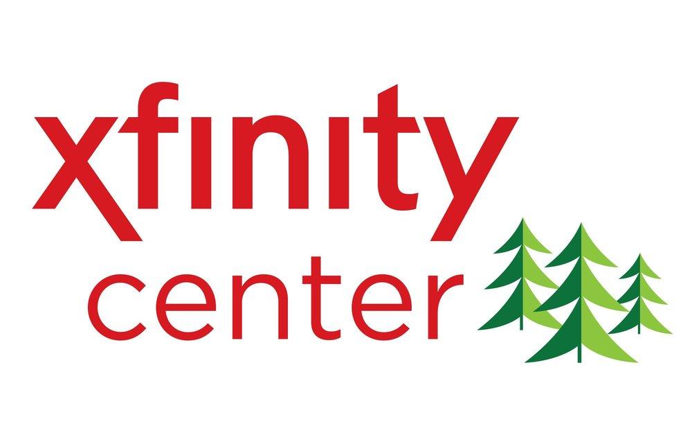 xfinity center logo