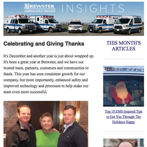 December Brewster Insights