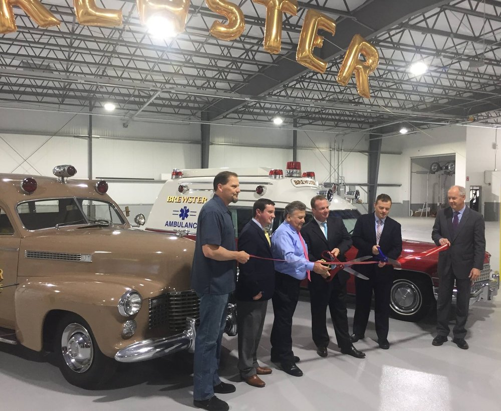 June 1, 2017 grand opening of Brewster Ambulance Service Weymouth headquarters
