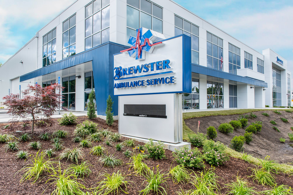 Brewster Ambulance Service corporate headquarters in Weymouth