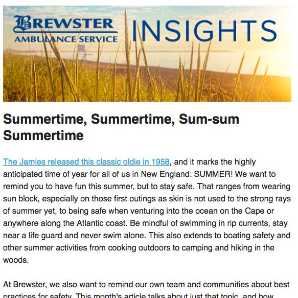 Brewster Insights June 2017
