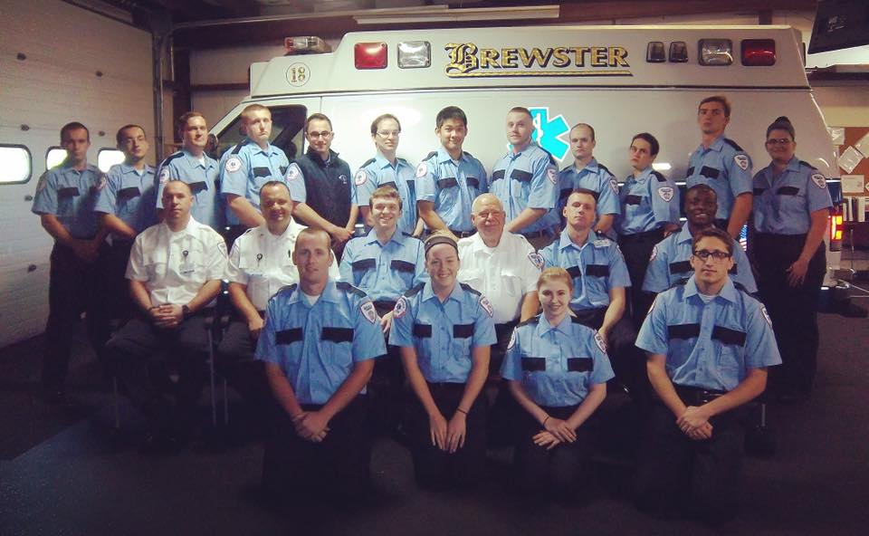new Brewster Ambulance team members