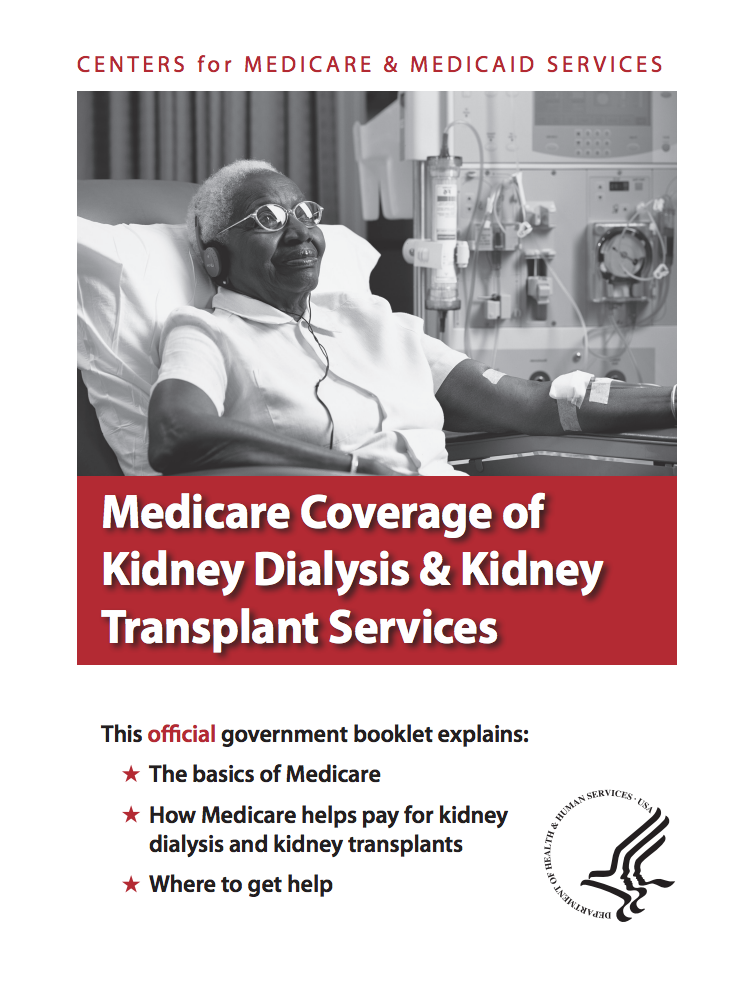 Medicare Coverage of Kidney Dialysis & Kidney Transplant Services (PDF)