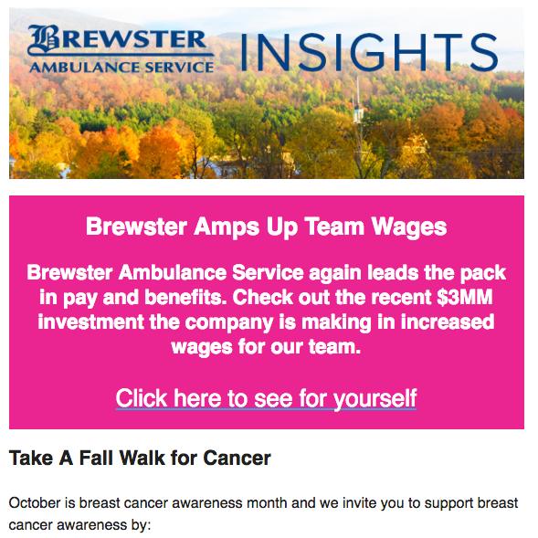 October 2017 Brewster Insights