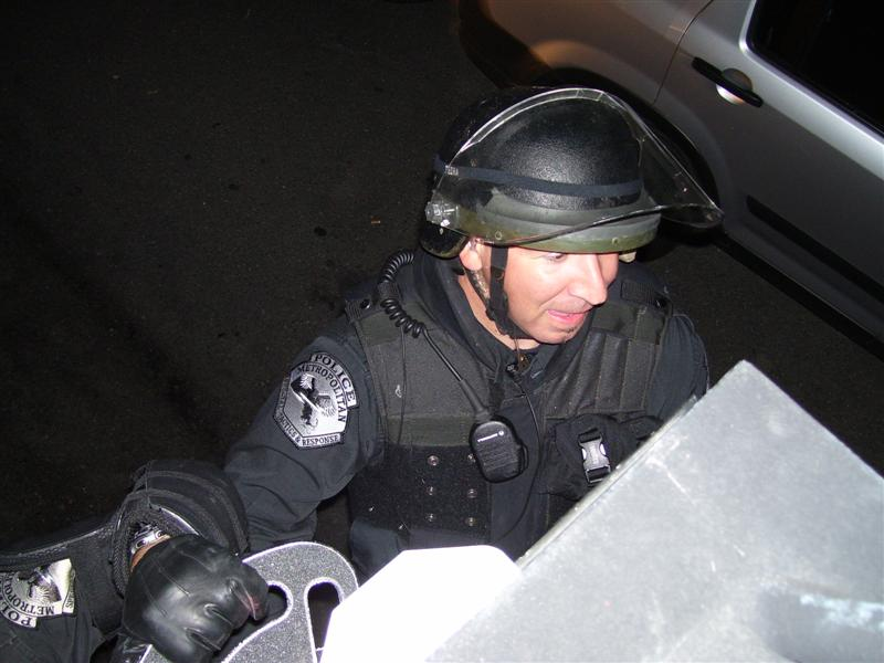 SWAT team coverage for 2007 World Series at Fenway Park