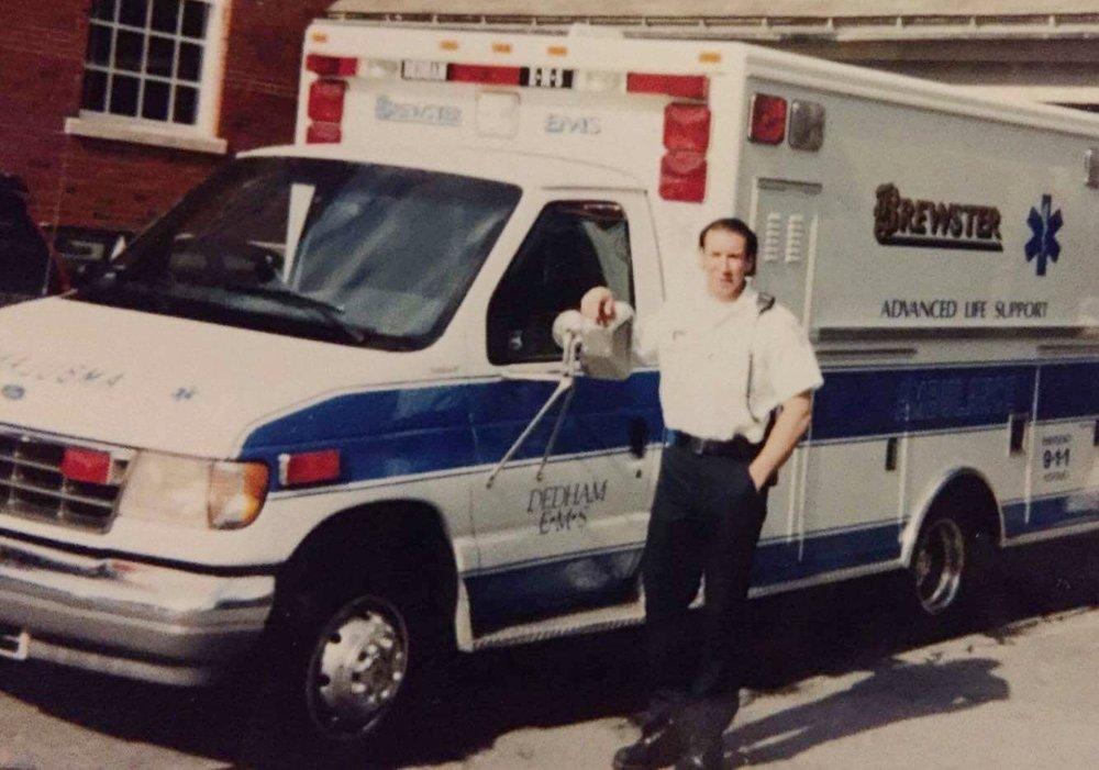 Brewster Ambulance Dedham Police Station, circa 1993