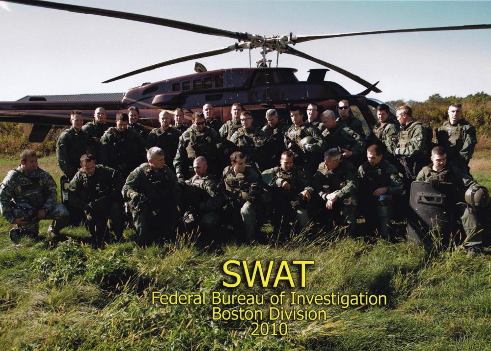 2010 SWAT FBI Boston Division