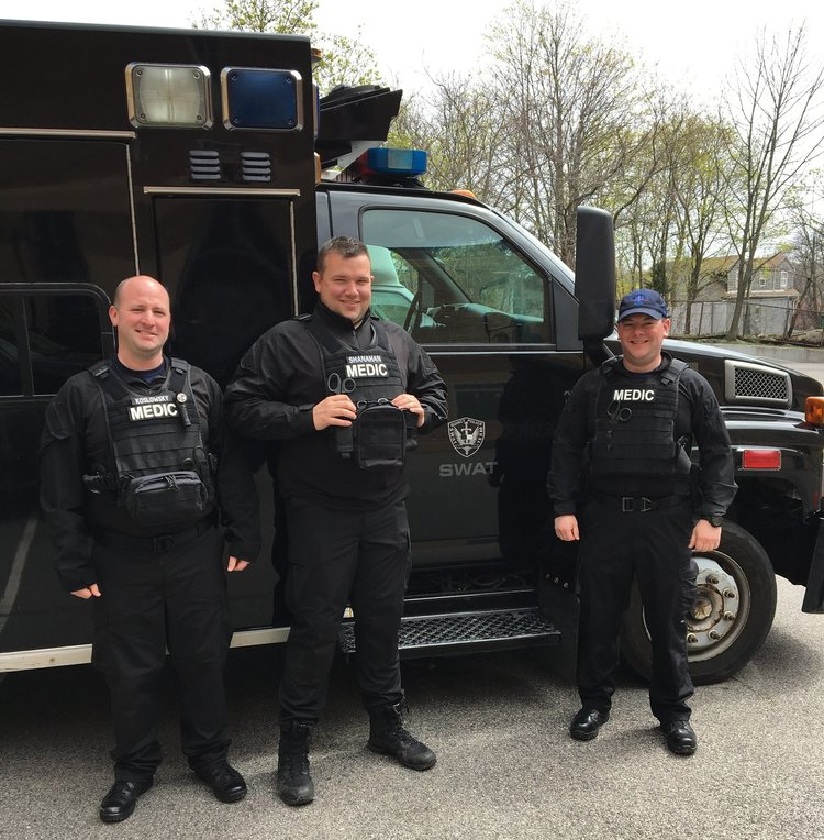 Tactical EMS team, Quincy