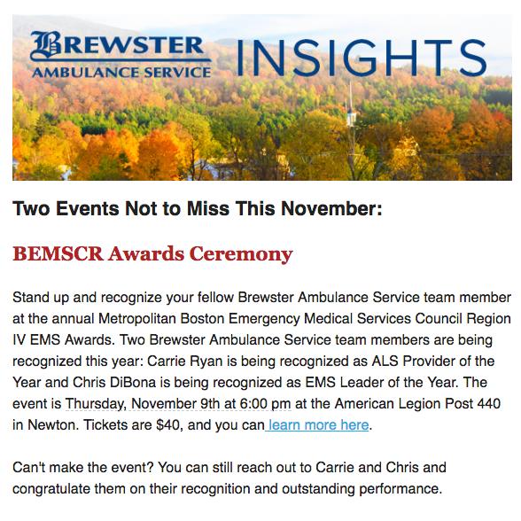 Brewster Insights Newsletter November