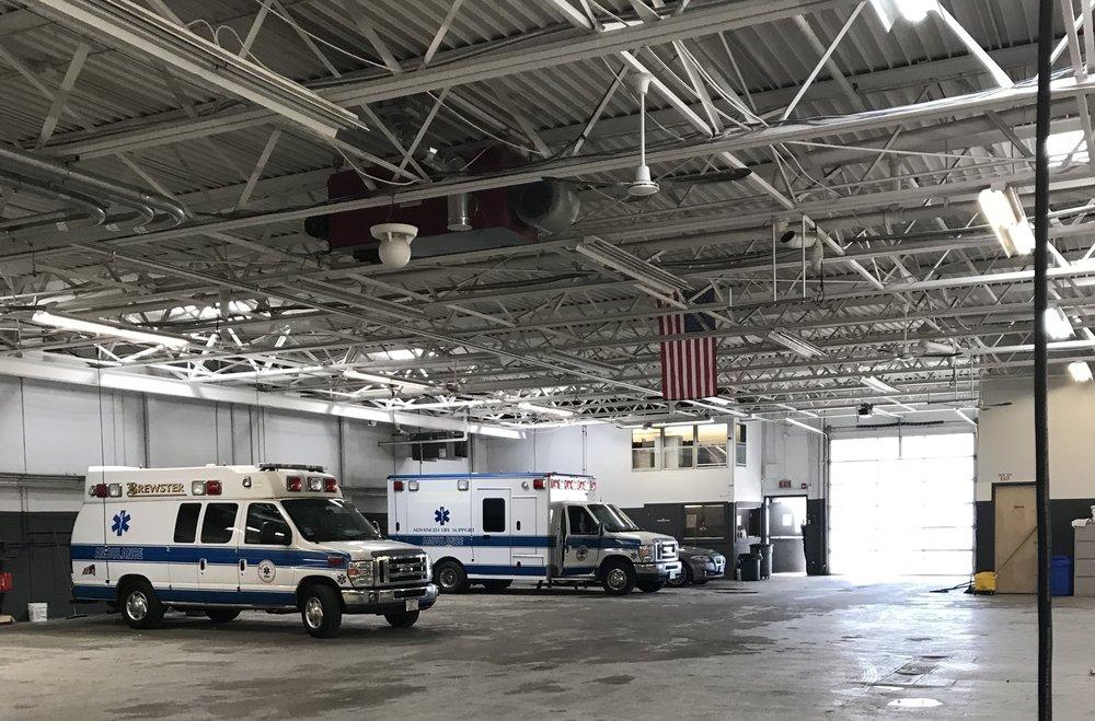 Main garage area