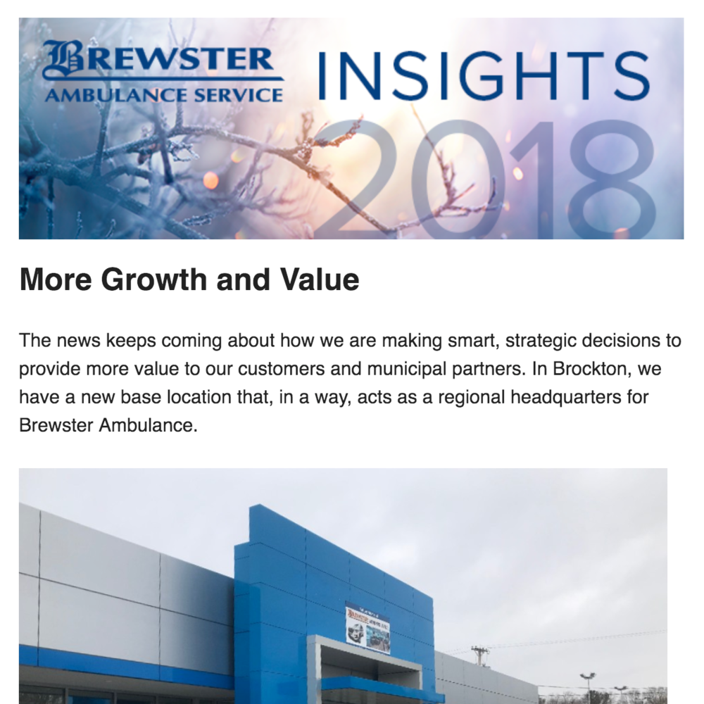 Brewster Ambulance Insights February 2018