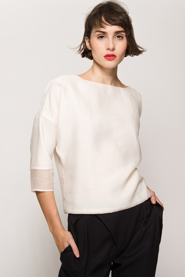 Valerie Dumaine Blaise Top, $145