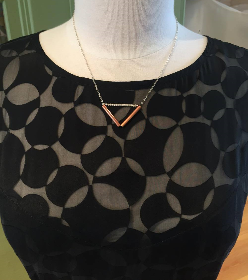 Della-B Designs necklace, $38