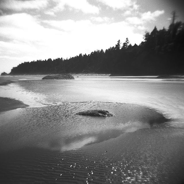 The coast of Washington. Brought to you by a Holga camera loaded with Ilford Fp4 film. Enjoy!  #believeinfilm #holga120 #ilfordfp4 #washingtonstate #kalaloch #filmphotographic