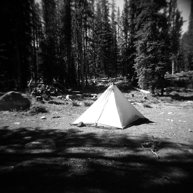 Looking forward to summer. : : #believeinfilm #ishootfilm #idaho  #idahoexplored #holga120n #ilfordfp4 #wildhorselake #filmphotographic #bnwidaho #sombrescapes #sombrebw