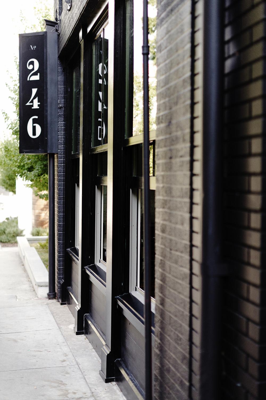 No.246 | Smith Hanes. exterior signage