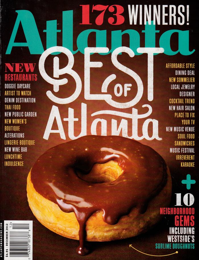 Atlanta Magazine  December 2012