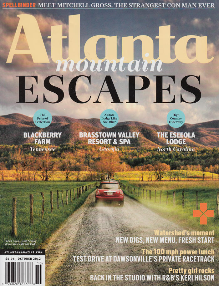 Atlanta Magazine October 2012