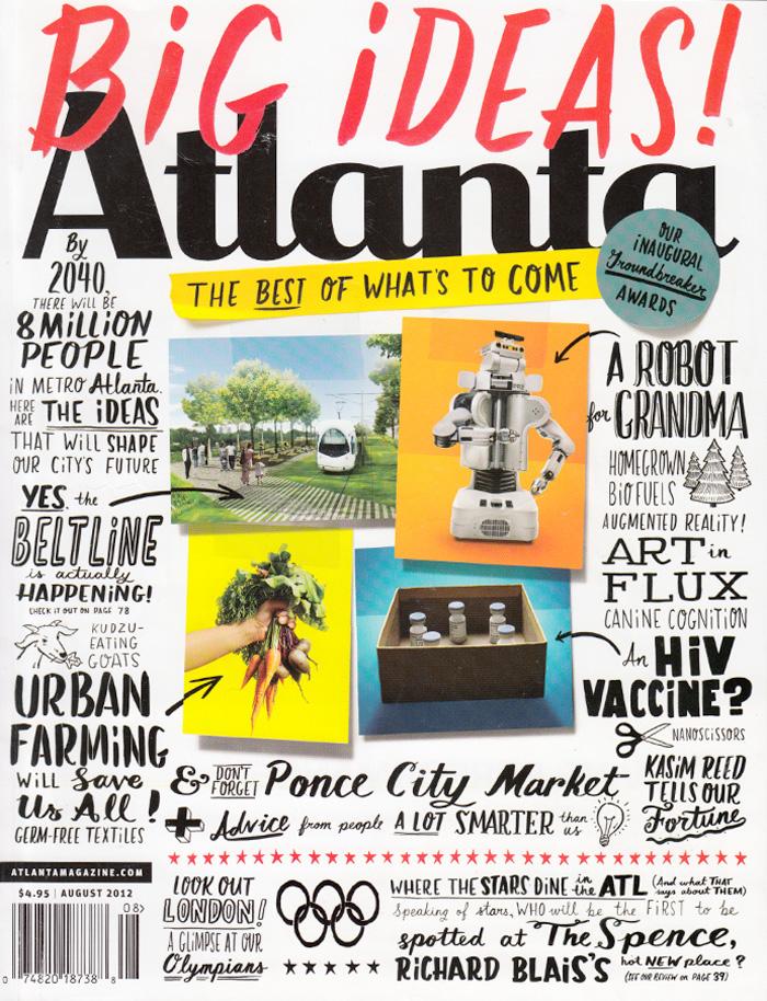 Atlanta Magazine  August 2012