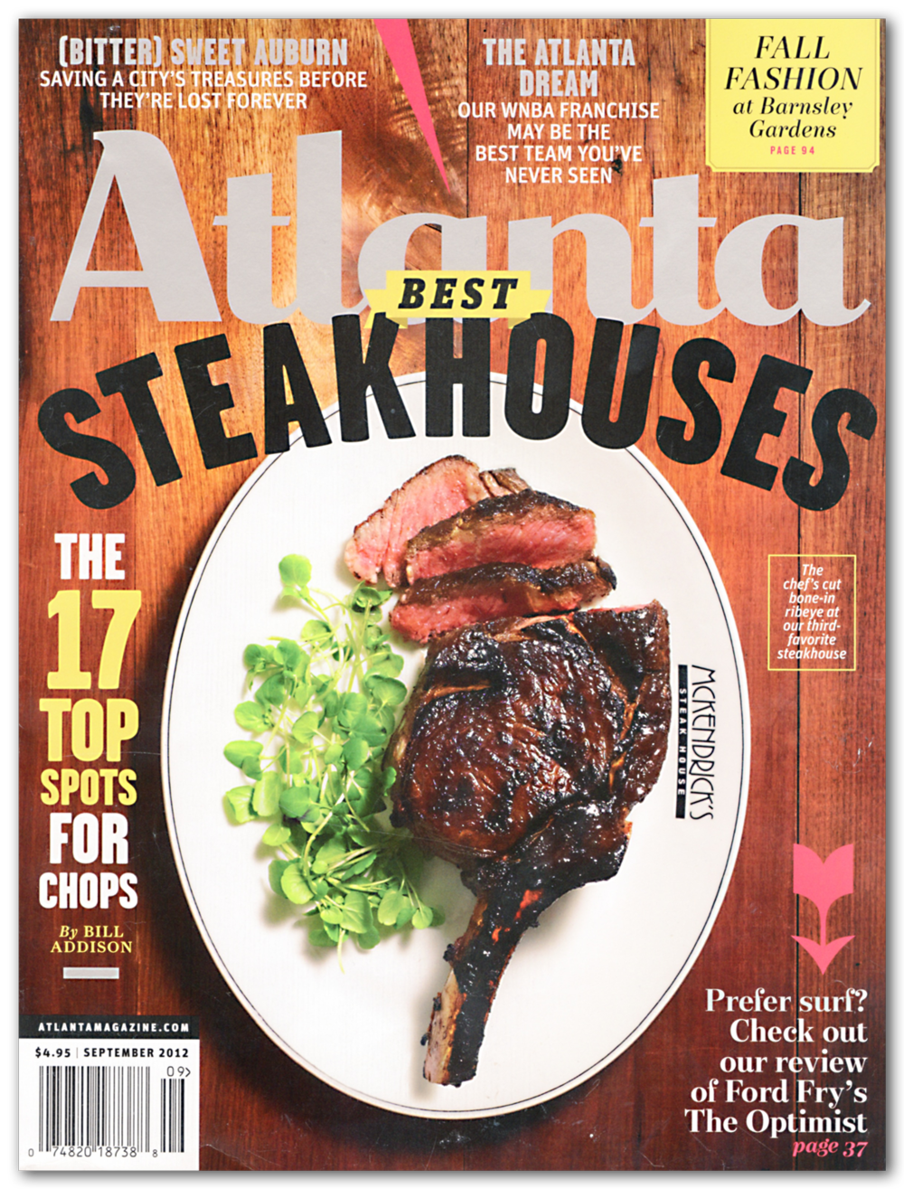 Atlanta Magazine  September 2012