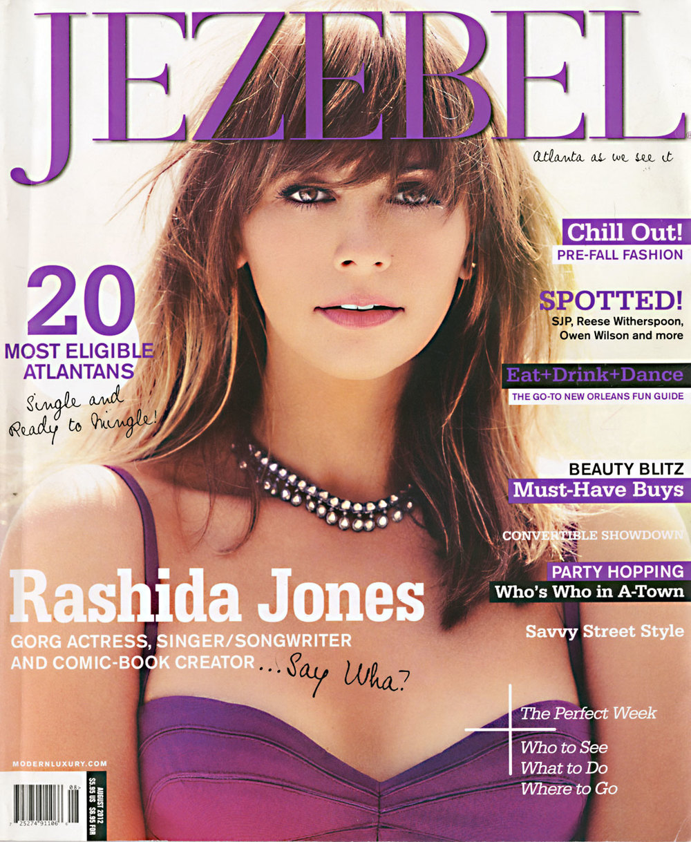 Jezebel Magazine  August 2012