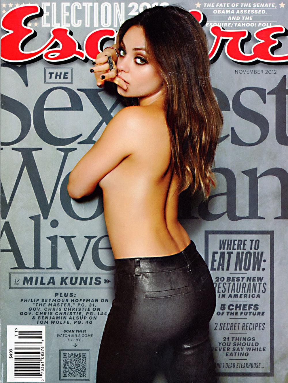 Esquire  November 2012