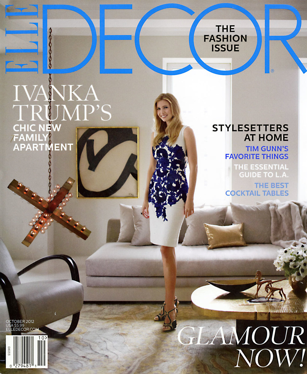 Elle Decor October 2012