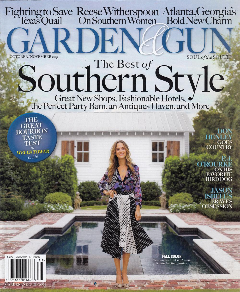 Garden & Gun  October/November 2015