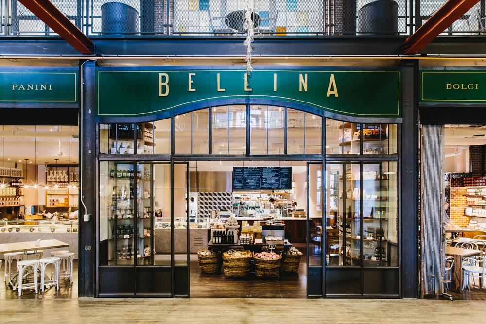 Bellina Alimentari | Smith Hanes. restaurant exterior